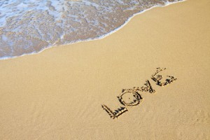 Love in Sand