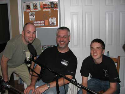 The BtB team -- from left: Raborn Johnson, Steve Sensenig, Dylan Sensenig